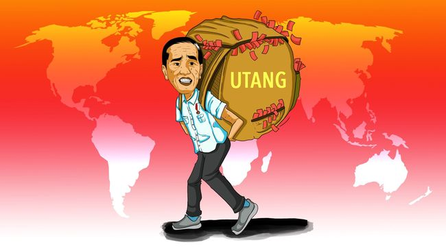 Utang Indonesia Kian Parah Hingga Jadi Trending Topic: Sudah Mendarah Daging, Setop Gaji Presiden!