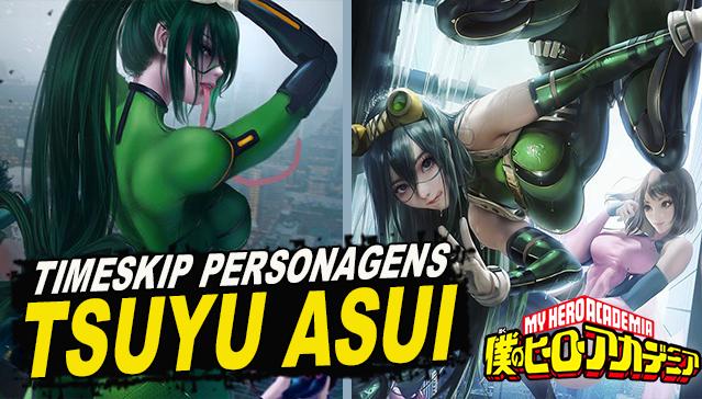 TIME SKIP TSUYU ASUI! Boku no Hero Academia
