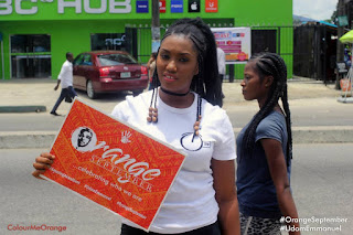 Are you in Uyo? Have you seen the #OrangeSeptember #VoxPop Team?