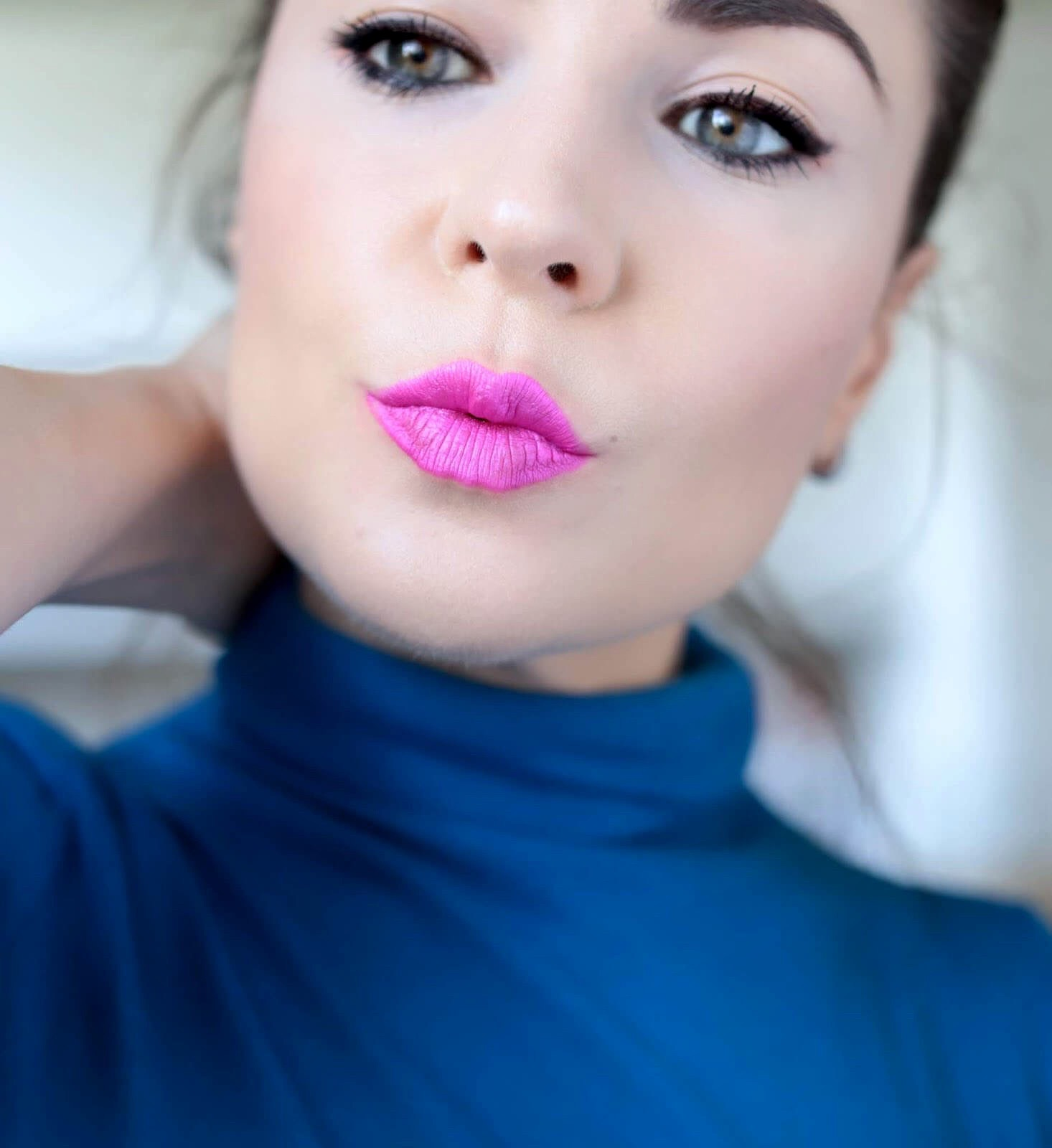 Tom Ford Lip Laquer 03 Panty Pink test