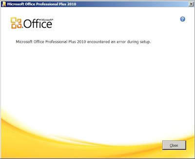 Cara Mengatasi Error saat Install Microsoft Office 5