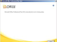 Cara Mengatasi Error saat Install Microsoft Office