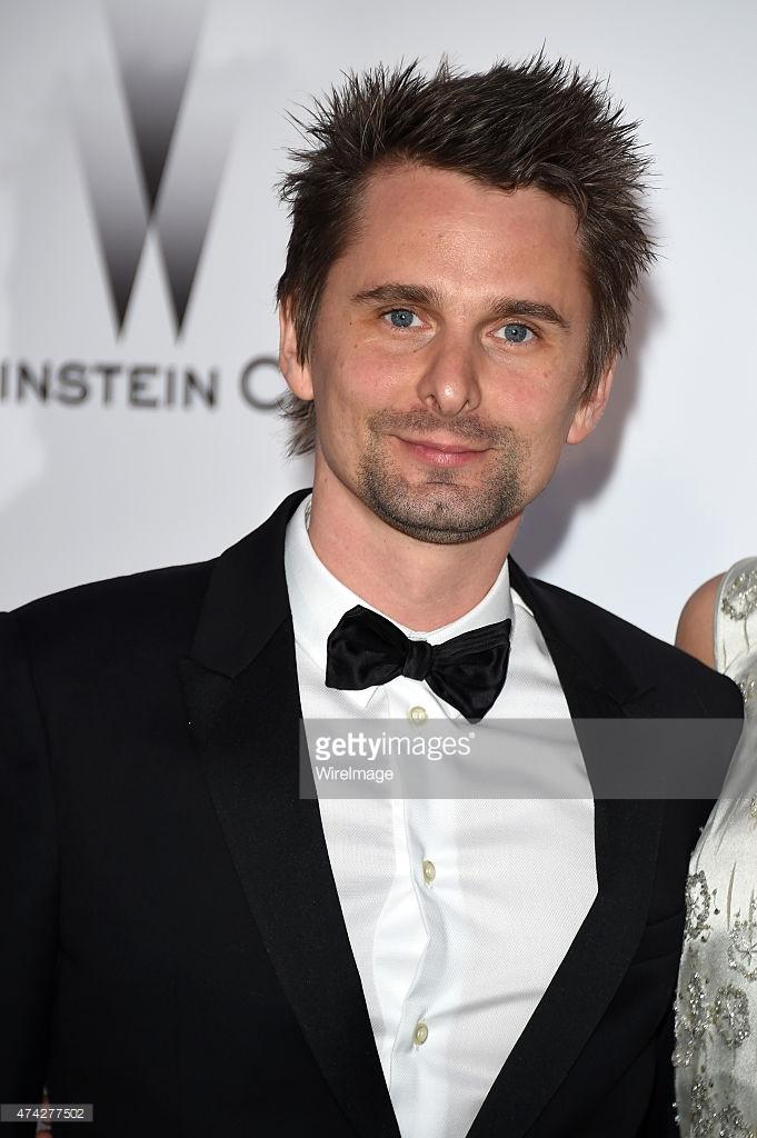MUSE : Matt Bellamy and Elle Evans_21 May 2015 - amfAR ...