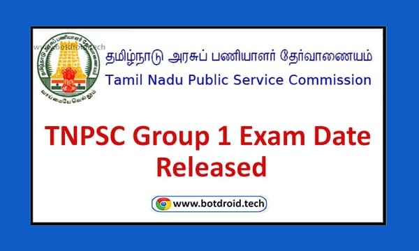 TNPSC Group 1 Exam Date 2021 Released Check Official Notification Pdf Details