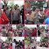 Kapolres Belawan Tangani Unras Oleh Elemen Buruh di KIM 2 Mabar Secara Humanis