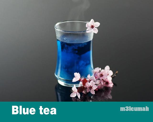 الفوائد الصحية للشاي الازرق