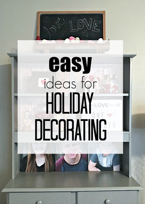 ideas to decorate for the holidays