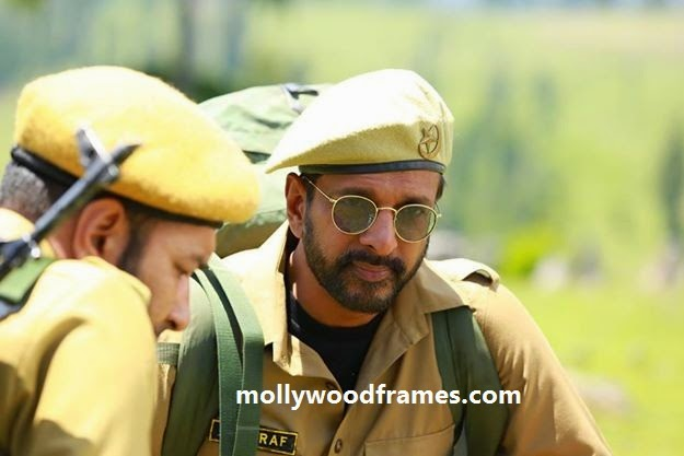 Javed Jaffrey in the movie 'Picket 43'