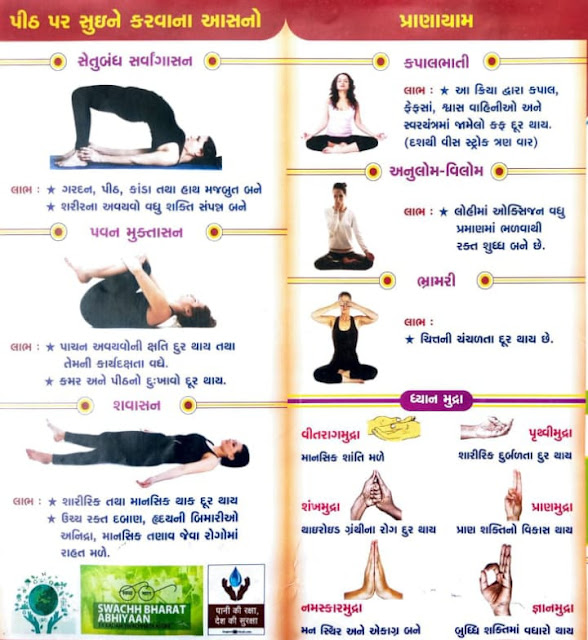 Mudra, Yogas and its benefits