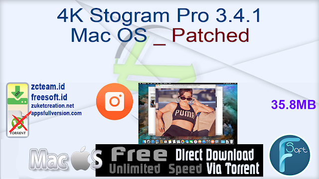 4K Stogram Pro 3.4.1 Mac OS _ Patched_ ZcTeam.id