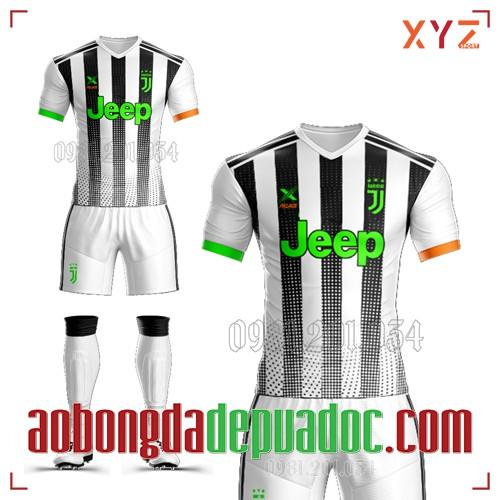 Áo Juventus 2020 Sân Khách 3 Màu Trắng Đen Đẹp Và Độc