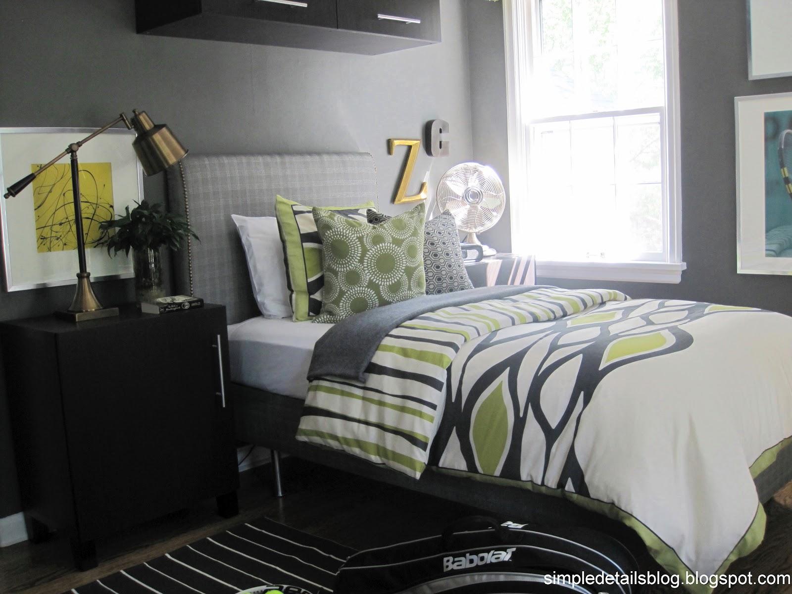 Simple Details: Teen Boy's Bedroom
