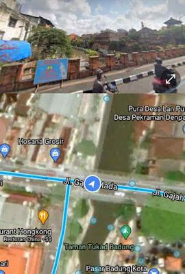 cara melihat rumah di google earth