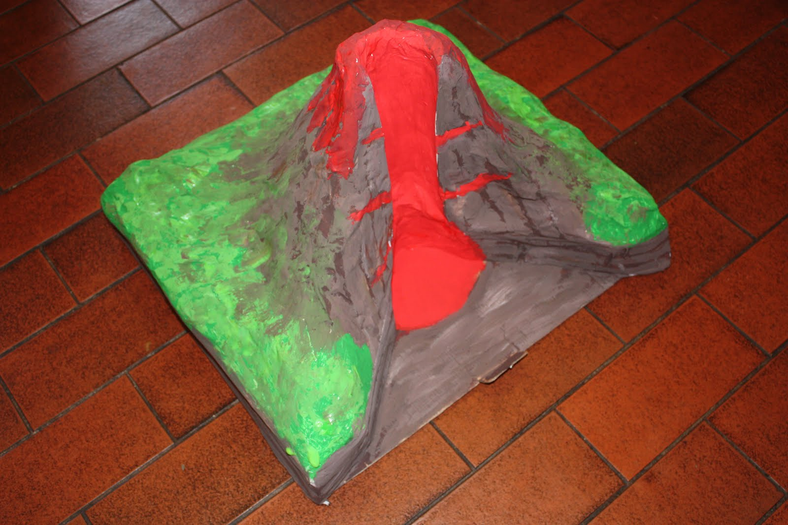 In All Honesty How We Made A 3d Cross Section Volcano