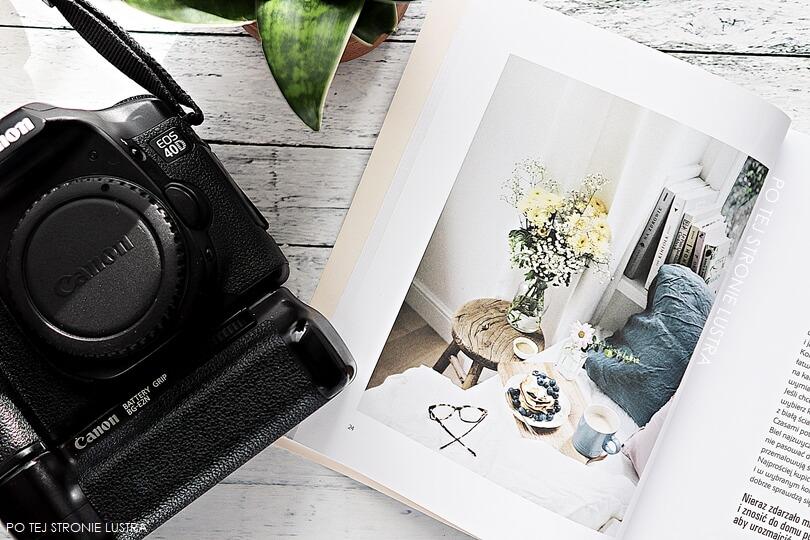 książka o fotografii i aparat canon eos 40D