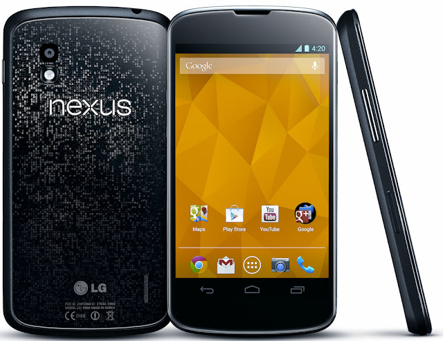 Nexus 4 now official in India