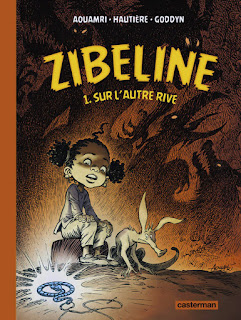 couverture de la bd Zibeline tome 1 - Sur l'autre rive aux éditions Casterman