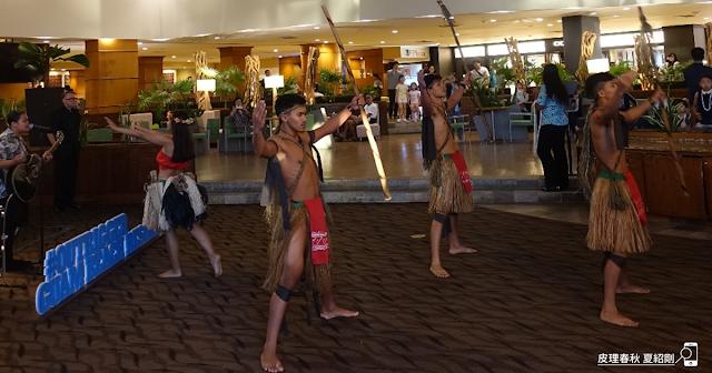 奧瑞格飯店的查莫洛傳統舞蹈表演-皮理春秋