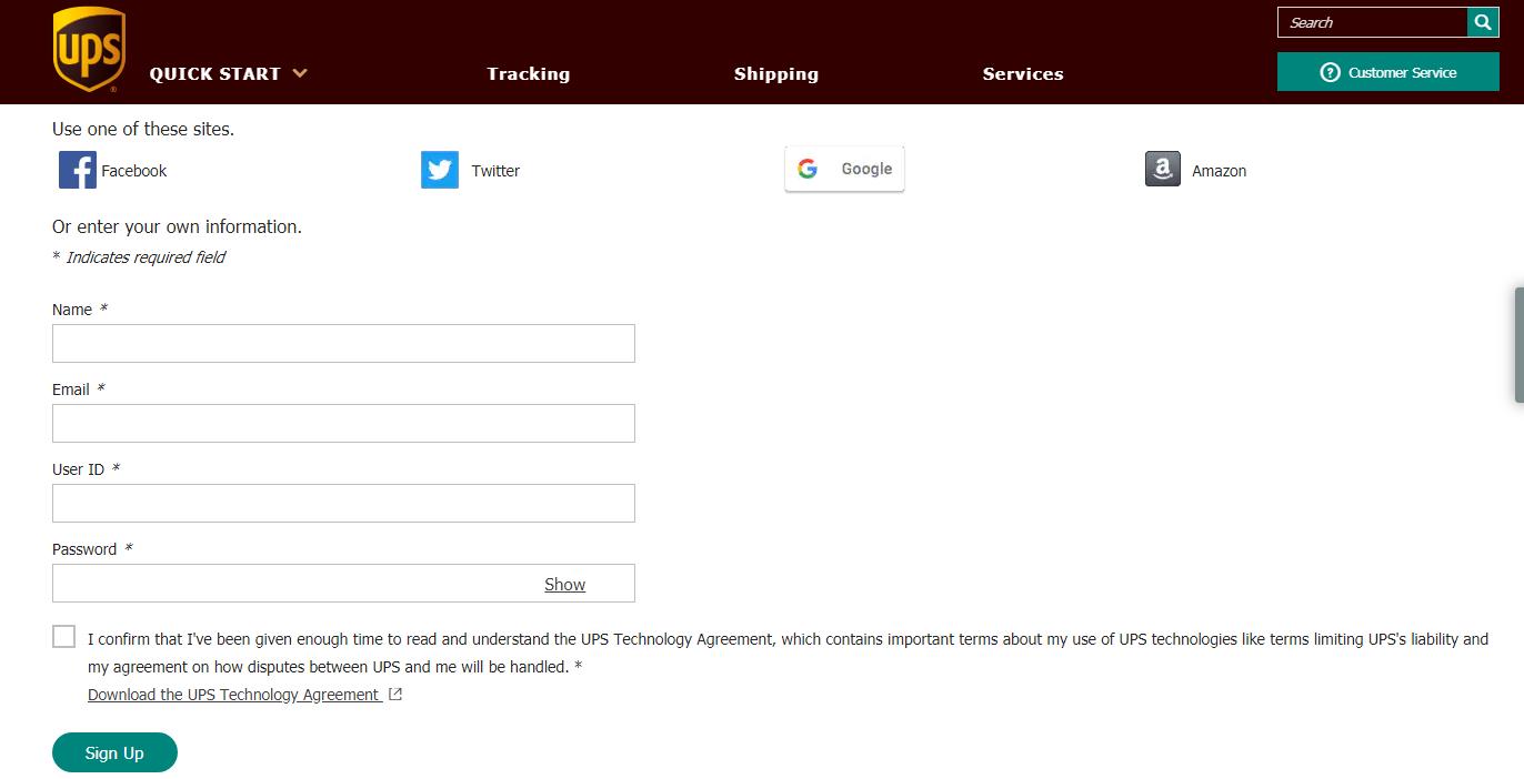 UPSers Login – Signup   Registration Portal @ UPS com