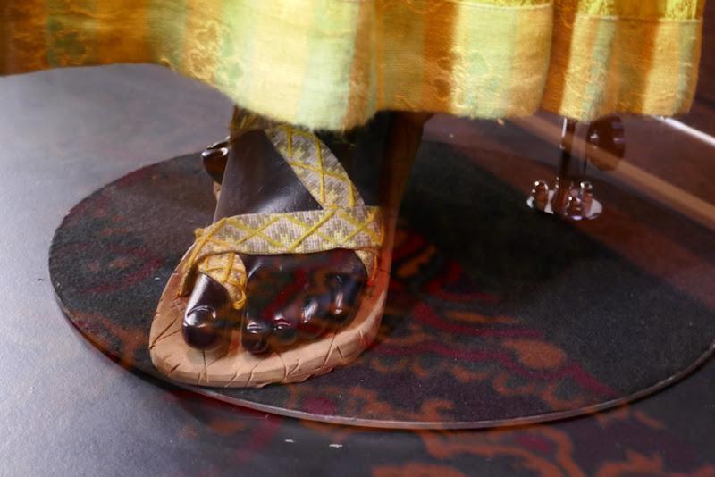 Shang-Chi Li costume sandals
