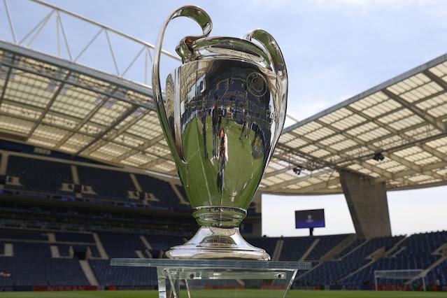 كأس دورى أبطال أوروبا فى ملعب بورتو
