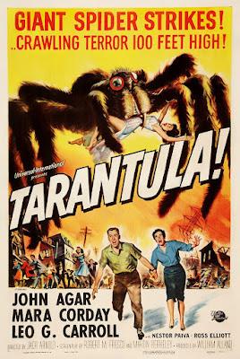 Póster película Tarántula - 1955