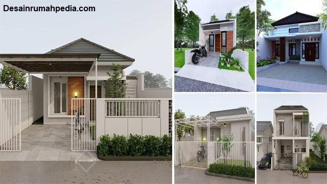 6 Model Desain Rumah Minimalis Sederhana Tapi Mewah Dan Indah Desainrumahpedia Com Inspirasi Desain Rumah Minimalis Modern