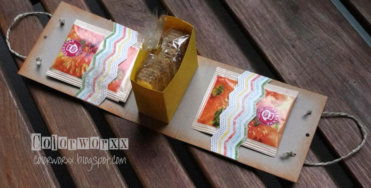 colorworxx kreativ mit stampin up in berlin tee geschenk verpackung. Black Bedroom Furniture Sets. Home Design Ideas
