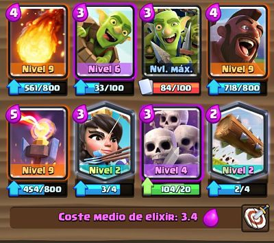 1 Mazo con Torre Infierno Clash Royale