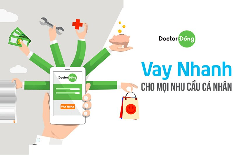 Doctor Đồng – Ưu đãi 0% lãi suất & phí cho khách hàng vay lần đầu