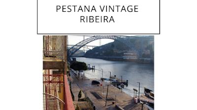 varanda de hotel no Porto com vista para o rio Douro e a ponte Luis I