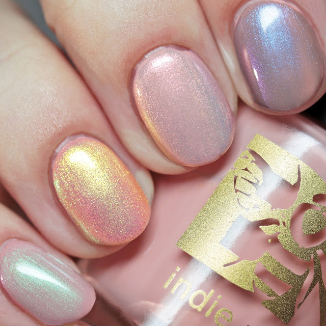 Bee's Knees Lacquer The Fallen, The Oracle, The Star-Eater, and The Under King over Pinky