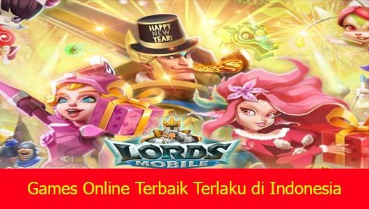 Games Online Terbaik Terlaku di Indonesia