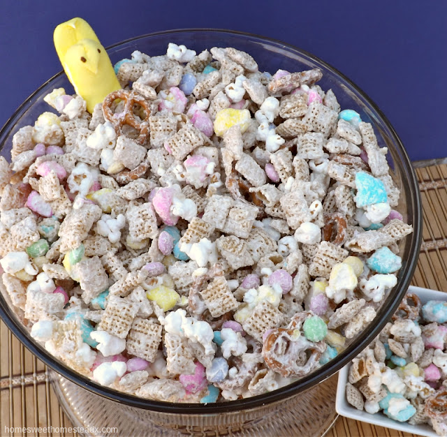 Home Sweet Homestead - PEEPS Snack Mix