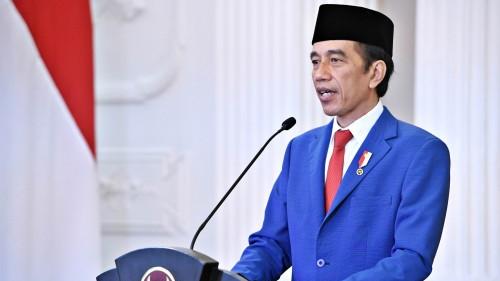 Jokowi Pastikan Pencarian KRI Nanggala-402 Tetap Dilakukan