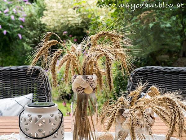 Spätsommer auf der Terrasse - Dekorationsideen für den Sommerausklang