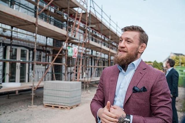 Конор Макгрегор строит восемь домов для бездомных ирландских семей