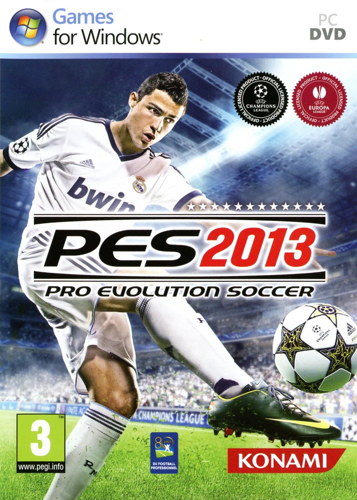 Pro Evolution Soccer 2013 + Patch PES 2013 [Jual]