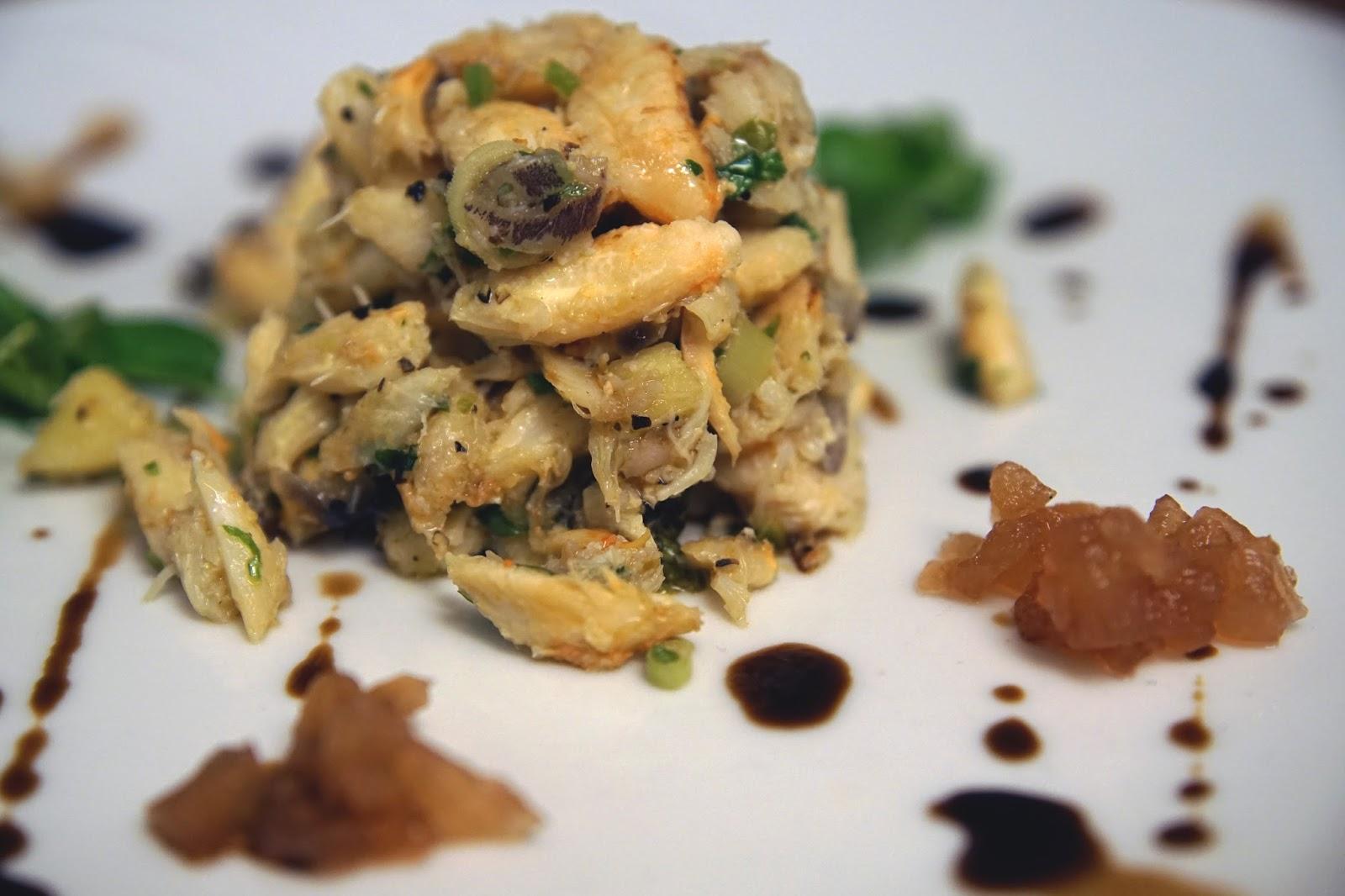 Hello Freckles Sausage Emporium NE1 Restaurant Week Crab Cakes Starter