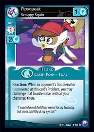 My Little Pony Pipsqueak, Scrappy Squirt Canterlot Nights CCG Card