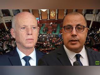 قيس سعيد يريد رأس هشام المشيشي... بقلم الاستاذ ابراهيم الوسلاتي