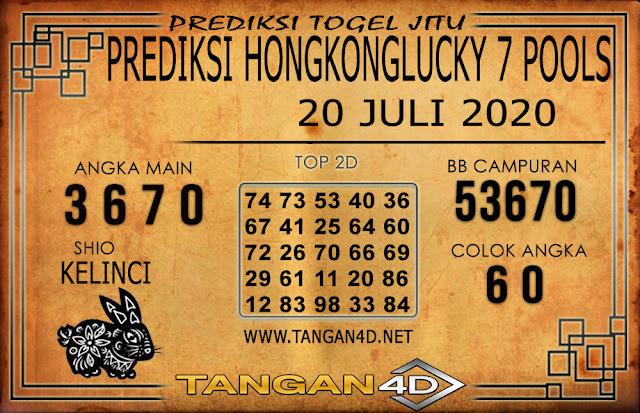 PREDIKSI TOGEL HONGKONG LUCKY 7 TANGAN4D 20 JULI 2020