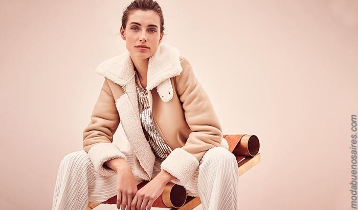 Sacos y camperas otoño invierno 2019 ropa de mujer.