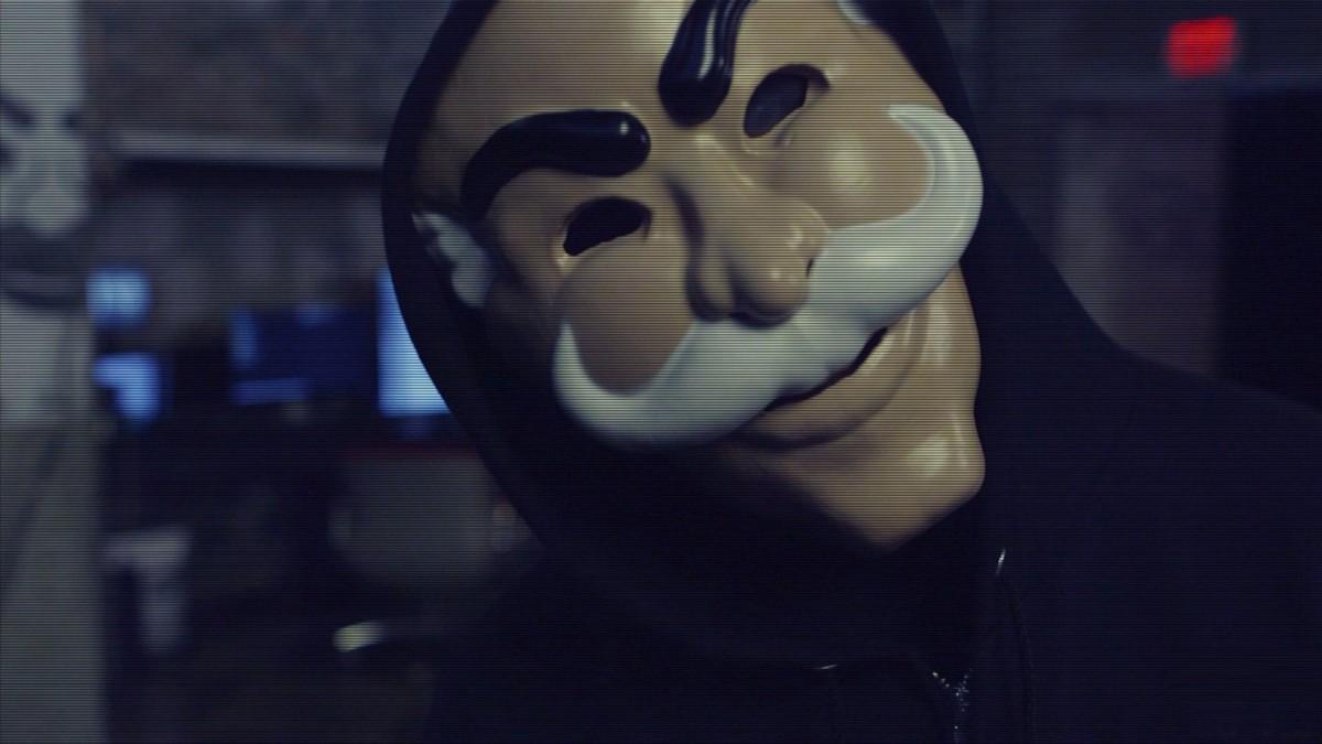 mr robot maska