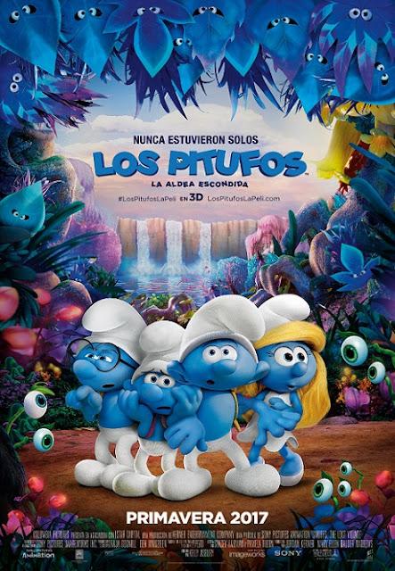 Smurfs The Lost Village (Los Pitufos: La Aldea Escondida) (2017) 720p y 1080p WEBRip mkv Dual Audio AC3 5.1 ch