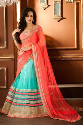 Love How Bright This Saree Is, But Light Color May Not Suit Tanned Skin.