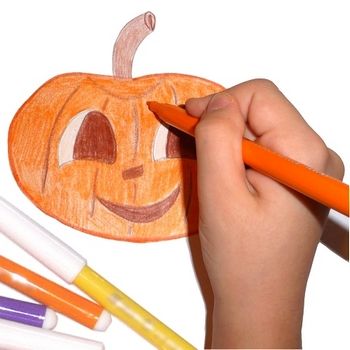 And They Can Draw So Many Drawings For Any Holiday On This Page You Find Easy Halloween Kids