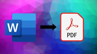 تحميل برنامج تحويل word إلى pdf بنفس التنسيق