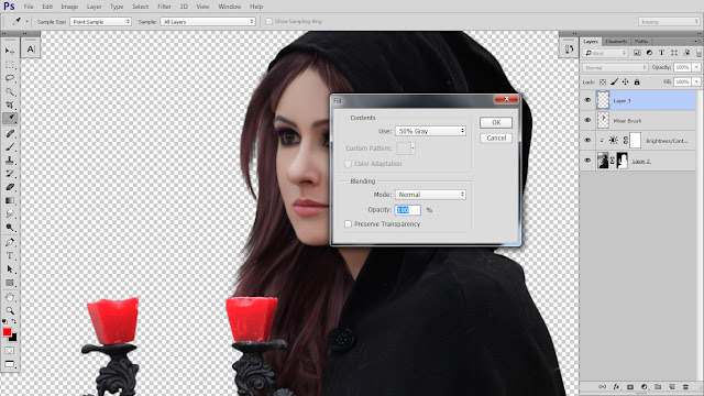 9 Design cover buku Novel dengan Photoshop CC