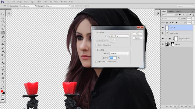 9 Design cover buku Novel dengan Photoshop CC